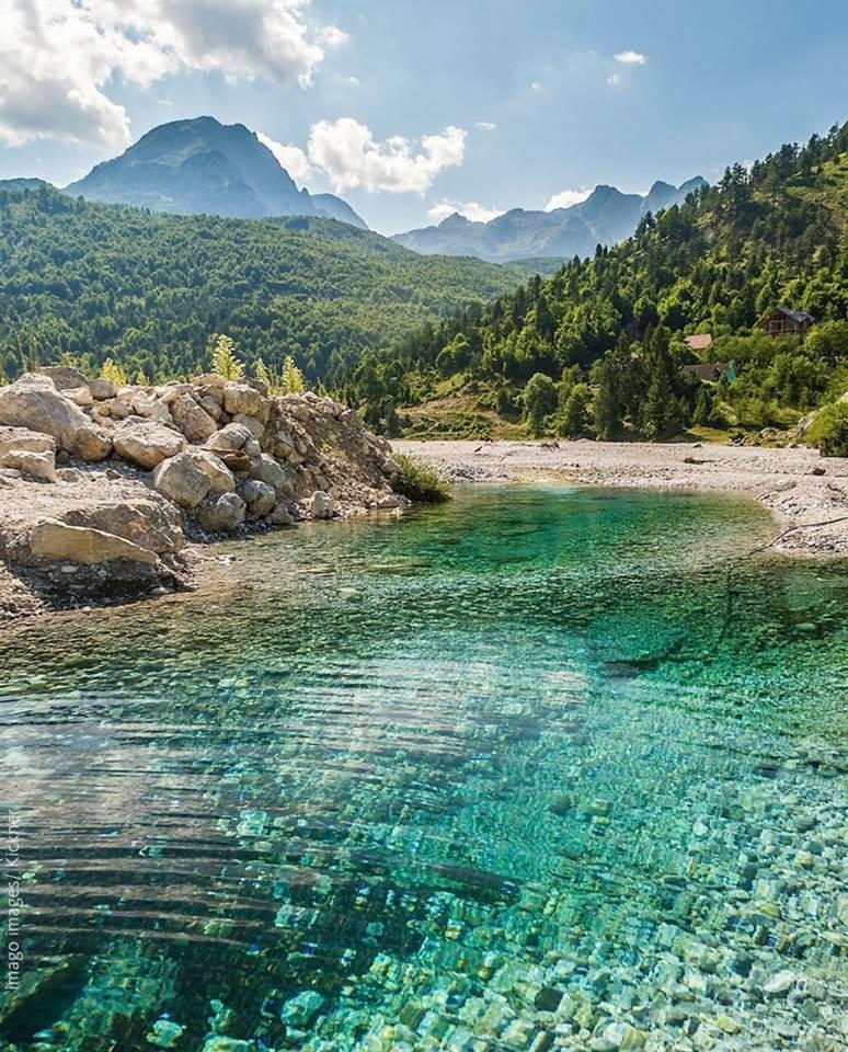 VIDEO-FOTO/ Lumi i Gashit, mrekullia natyrore mes Alpeve Shqiptare - ATSH -
