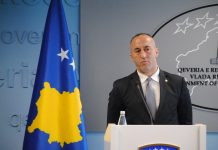 Kryeministri në detyrë, Ramush Haradinaj