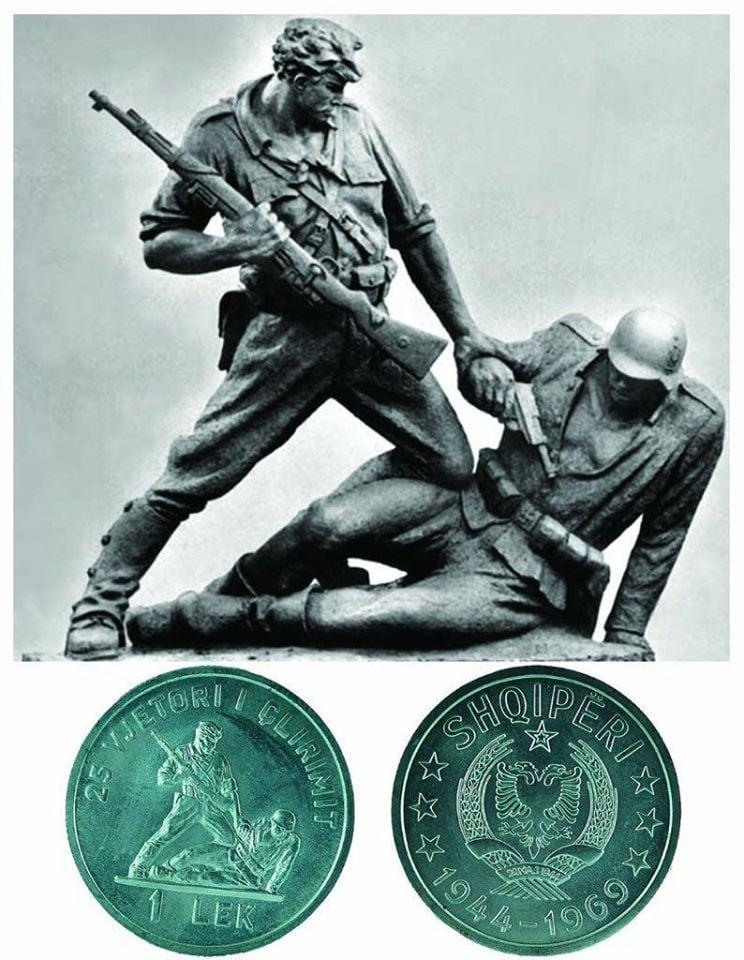 Çlirimi, publikohen monedhat përkujtimore të vitit 1969
